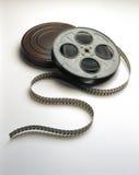 Filmfilm Bandspule u. kann Stockbilder