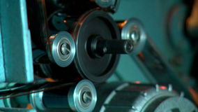 Filmfilm, cinematografisch materiaal stock video