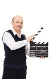 Filmfilm thuis Stock Foto