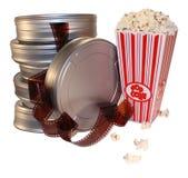 Filmfilmkanister Stockfoto