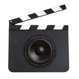 Filmfilmmusikbegrepp Royaltyfria Foton