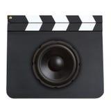 Filmfilmmusikkonzept Lizenzfreies Stockfoto