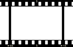 FilmFrame (x1_2). 35 mm Film Frame (with numbers Vector Illustration