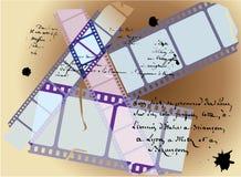 Filmgeschichtehintergrund Lizenzfreie Stockfotografie