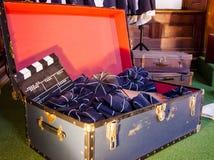 Filmherstellungseigenschaften Stockbild
