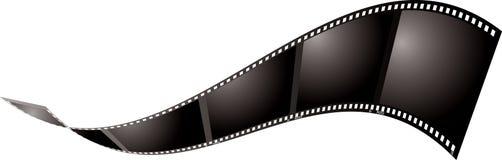 Filmhin- und herbewegung Stockbilder