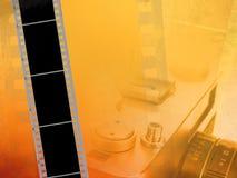 Filmhintergrund Lizenzfreies Stockbild