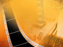 Filmhintergrund Stockfotografie