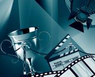 Filmhintergrund Lizenzfreie Stockfotografie
