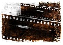 Filmhintergrund Stockfoto