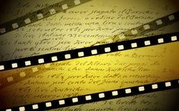 Filmhintergrund Stockbilder
