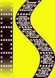 Filmi la priorità bassa Fotografie Stock Libere da Diritti
