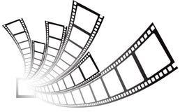 Filmi la striscia Immagini Stock