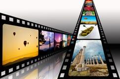 Filmi la striscia Fotografia Stock