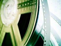 Filmindustrie - Filmbandspulen Stockbilder