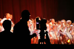 Filming ballet Stock Images