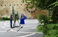 Filming of clip Royalty Free Stock Images