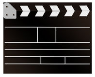 Filming cracker. Illustration of filming cracker on a white background Royalty Free Stock Photos