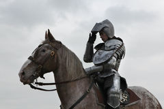 Filming of the new movie The Knights Stock Images