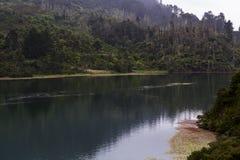 Filmiskt flodlandskap royaltyfri foto