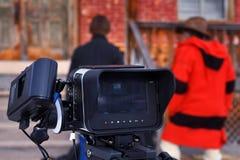 Filmkamera royaltyfri foto