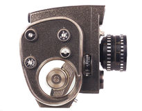 Filmkamera; Lizenzfreie Stockfotografie