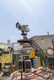 Filmkamera in der Szene lizenzfreie stockfotografie