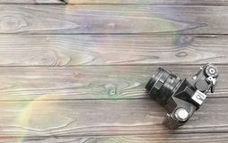 Filmkamera retro-fotografisk teknik arkivbilder