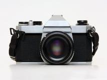Filmkamera - Vorderansicht Lizenzfreie Stockbilder