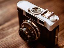 Filmkameras, die in der Vergangenheit populär gewesen waren Lizenzfreies Stockbild