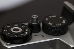Filmkameras, die in der Vergangenheit populär gewesen waren Stockfotografie