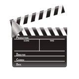 Filmklatschen Lizenzfreies Stockbild