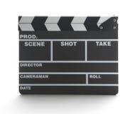 Filmklatschenvorstand Stockbilder