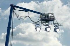 Filmlampor Arkivfoto