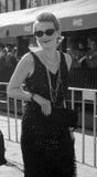 Filmmaker Renata Litvinova at Moscow Film Festival. MOSCOW, RUSSIA - June 21: Famous Russian movie director and actress Renata Litvinova at XXXIV Moscow Stock Photo