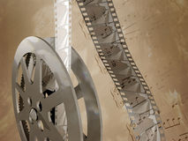 filmmusik Arkivfoto