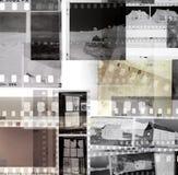 Filmnegative stockbild