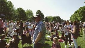 Filmowa Królewska Ślubna atmosfera w Windsor zbiory