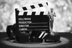 Filmpreis Schwarzweiss stockfotografie
