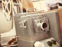 Filmprojektor för tappning 8mm Royaltyfri Fotografi