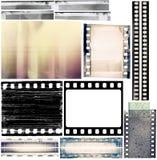 Filmränder Lizenzfreies Stockfoto