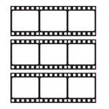 Filmrahmenikone Lizenzfreie Stockfotografie