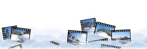 Filmramar Arkivbilder