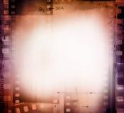 Filmramar arkivbild