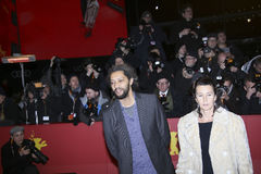 Filmregisseur Alain Gomis Lizenzfreies Stockbild