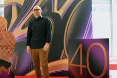 Filmregisseur Dustin Feneley am internationalen Film-Festival Moskaus Lizenzfreie Stockbilder