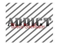 Filmrennerhintergrundlogobild-Fandesign Stockfotos