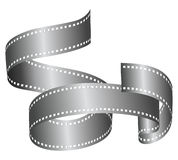 Filmroll Banner. A strip of film roll in a nice artistic vector shape to use as a banner Stock Photo
