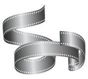 Filmroll-Fahne stockfoto