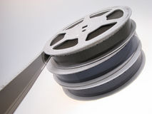 filmrullar Arkivbild